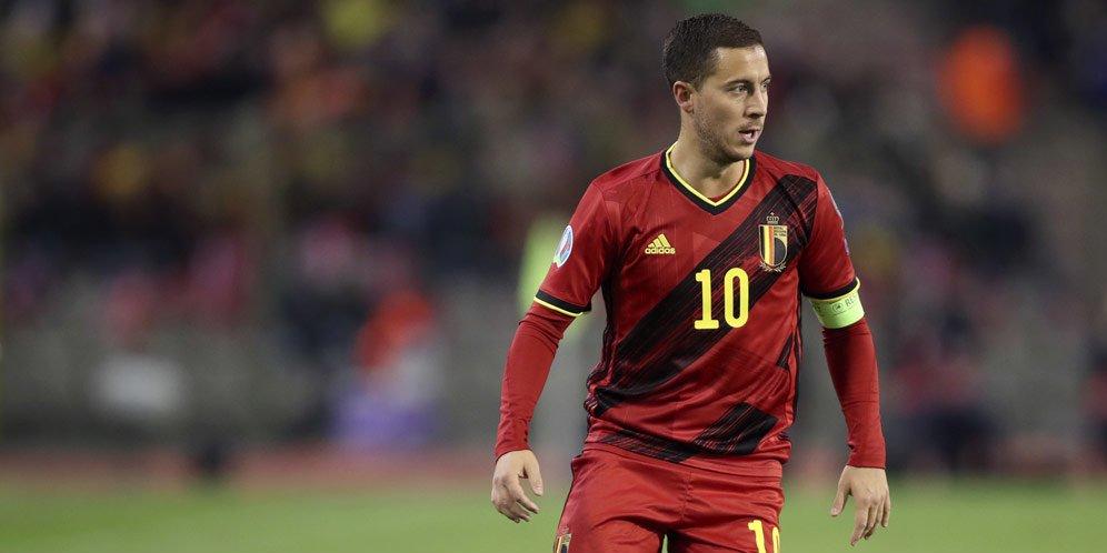 Hazard Siap Memberikan Gelar Euro 2020